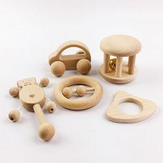 Brinquedos de madeira Chocalhos De Madeira Nova e divertida e interessante 2 conjunto 10 pc desenvolvimento intelectual das crianças Brinquedos Montessori