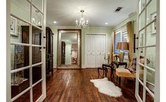 Dressing area/sitting room off the master--behind french doors--DREAM