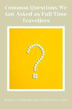 #Travel #Backpacking #Wanderlust #questions #fulltimetravel #blog #travelblog #adventure #expore #aroundtheworld Osprey Farpoint, Luang Prabang, Osaka Japan, Weekend Trips, Australia Travel, Asia Travel, Mind Blown, Travel Around The World, Instagram Story