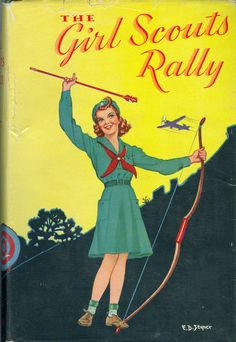https://flic.kr/p/6Bpid6   The Girl Scouts Rally bookcover   by Katherine Keene Galt