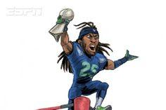 Pixar Animator Austin Madison Returns with NFL Matchup Sketches