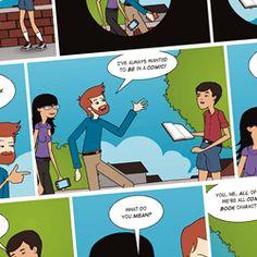 Herramienta para crear historietas animadas.
