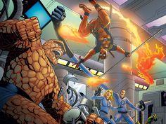 Comics - Fantastic Four Wallpaper