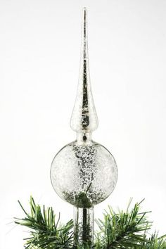 glass christmas tree topper would love to have this on top of my tree where else can i find this