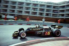 Gunnar Nilsson, Lotus-Ford 77, 1976 Monaco GP, Monte Carlo