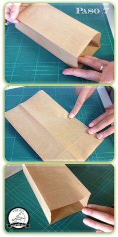 DIY: Bolsitas papel Kraft                                                                                                                                                                                 Más