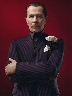 Gary Oldman, modeling for Prada menswear. You're welcome.  i want to be him when i grow up.  Source: prada.com