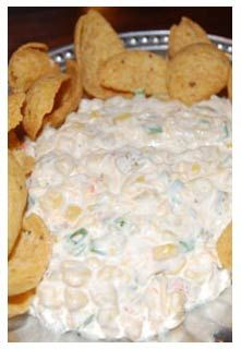 Corn Jalapeno Dip, Crock-pot style