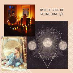 Bain de Gong de Pleine Lune à nantes le 11 novembre à Yoga, Movies, Movie Posters, Art, Nantes, Full Moon, Travel, Art Background, Film Poster