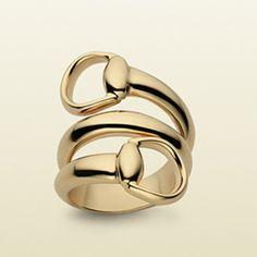 Gucci Horsebit Ring