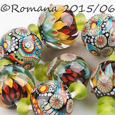 Lampwork Beads by Romanya