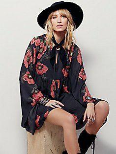Poppy Fields Forever Dress