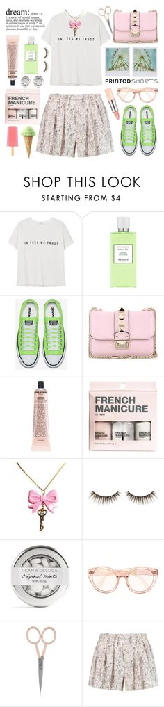 """In tees we trust!!!"" by karineminzonwilson ❤ liked on Polyvore featuring MANGO, Hermès, Valentino, Grown Alchemist, H&M, shu uemura, Anastasia Beverly Hills, rag & bone, Pink and mint"