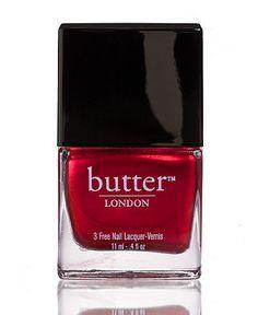 butter london #nailpolish #red #macys BUY NOW!