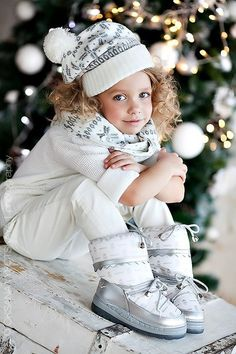 Image de beautiful, christmas, and girl