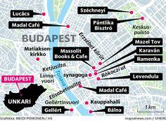 Budapest huokuu rentoa ja huoletonta elämää. Kompaktissa keskustassa pääsee kävellen lähes kaikkialle.