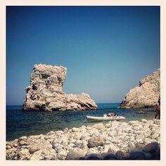 Di fronte alle Due sorelle #sea #summer #portonovo #ancona - @chiarette- #webstagram