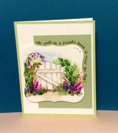 Path to a Friends House by JustCallMeNana - Cards and Paper Crafts at Splitcoaststampers