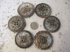 carved mother of pearl buttons