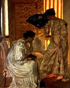 Rupert Bunny, New Step. Would like to have something like this in my house