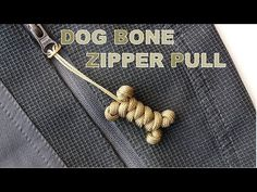 knots keychains How to Make a Dog Bone Paracord Zipper Pull/Keychain-Snake Knot-CBYS Paracord Tutorial Paracord Zipper Pull, Paracord Keychain, Paracord Bracelets, Snake Knot Paracord, Knot Bracelets, Dog Keychain, Survival Bracelets, Paracord Tutorial, Bracelet Tutorial