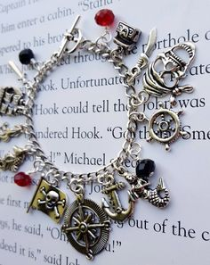Pirates of the Caribbean Charm Bracelet