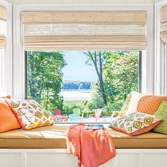 This is in Michigan, so the bright colors would be so nice during the long winter. Cottage in Bloom - Coastal Living