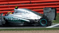 Lewis Hamilton at Silverstone 2013 British GP