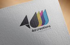 Brand Design - 4D Creations