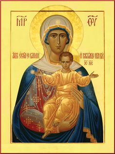 """""""If I an with you no one can be against you"""" / Afbeeldingsresultaat voor леушинская икона божией матери Byzantine Icons, Byzantine Art, Blessed Mother Mary, Blessed Virgin Mary, Religious Icons, Religious Art, Our Lady Of Rosary, Christian Artwork, Mary And Jesus"""