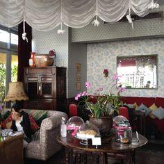 The lovely Ginger café in Chiang Mai