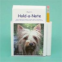 Silky Terrier Hold-a-Note: Nothing beats the exceptional look and quality of our Silky Terrier… #PetProducts #PetGifts #AnimalJewelry