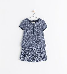 Image 1 of COMBINED PRINTED DRESS from Zara