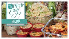 Healthy Meal Prep Menu 14 | Tortellini Soup, Eggplant Parmesan, Mini Mus...