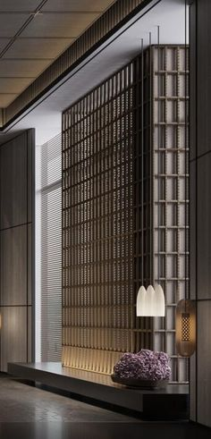 Sales Office, Chinese Style, Blinds, Divider, Composition, Walls, Curtains, Detail, Room