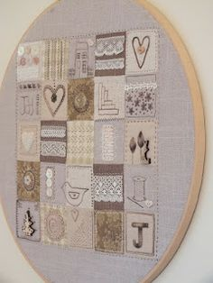 StitcheryJen squares for inspiration...