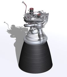 NASA's J-2X is an efficient and versatile rocket engine, offering the ideal thrust and performance characteristics to power the upper stage of a heavy-lift launch vehicle. Hardware for the first engine is being assembled at Pratt & Whitney Rocketdyne and at numerous subcontractor locations across the country, with testing anticipated at NASA's Stennis Space Center in early 2011.   Image credit: NASA  There's a Flickr photoset about the J-2X egnine development, if you'd lik...