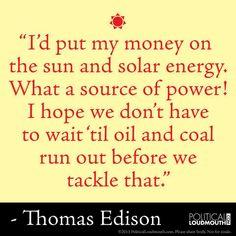 Thomas Edison was far ahead of his time!