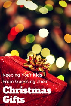How to Keep Your Kids from Guessing Their Christmas Gifts #ChosenByKids | Growing up Madison #sp