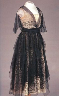 A gown by Nadezhda Lamanova, the first Russian couturier, ca 1910