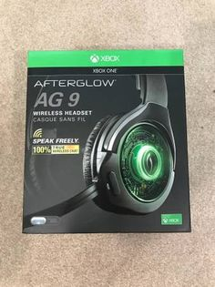 Selling an Xbox One gaming headset. PDP Afterglow 9. It's wireless with great sound and great battery life. It was used about twice and put back in the box. Retail is $119.99. Selling for $60. Cheers