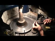 Gemstone Lapidary (Cutting and Polishing) - by Gandhi Enterprises - YouTube