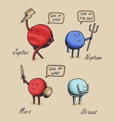 Don't be sad Uranus  - funny pictures #funnypictures