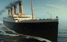 Four days after it set off the Titanic sank to the bottom of the Atlantic with the loss of over 1,500 lives