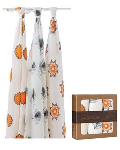 We loved these blankets...aden + anais bamboo muslin swaddles (Three Pack) Product Shot