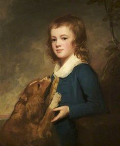The Honourable Reverend Anchitel Grey (1774–1833), as a Boy, 1781-1786, George Romney