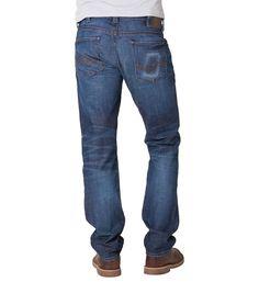 Allan Classic fit, slim leg jeans.  #silverjeans