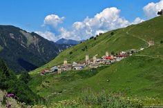 Svaneti, the mountainous paradise of Georgia. The main places he visited were Adishi