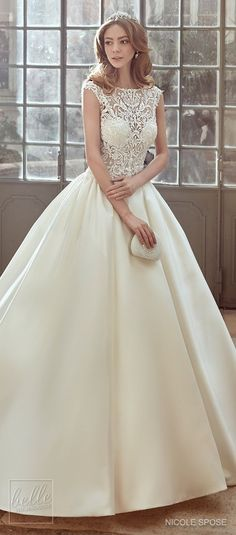 Nicole Spose Wedding Dress Collection 2017 #weddingdress