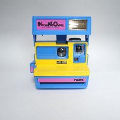 Very Rare Polaroid Tomy Kodomo no Omocha Japanese 600 Instant Film Camera Takes Impossible Project Film!